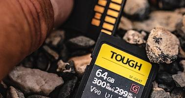 Obrázek modelu Specifikace karet TOUGH série SF-G