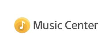 Logo aplikace Sony | Music Center.