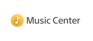 Logo aplikace Sony Music Center.
