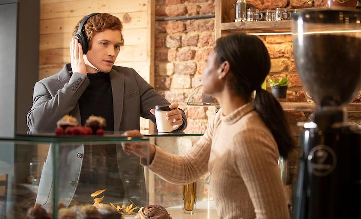 Režim Rychlá pozornost v kavárně