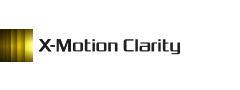Logo technologie X-Motion Clarity
