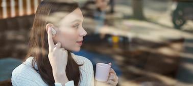 Obrázek modelu Bezdrátová sluchátka WF-1000XM3 s technologií pro potlačení okolního hluku