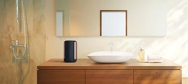 Reproduktor SRS-RA3000 v koupelně