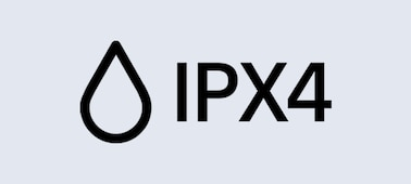 Ikona krytí IPX4