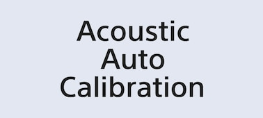 Logo technologie Acoustic Auto Calibration