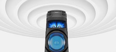 Obrázek modelu Vysoce výkonný audiosystém V73D s technologií BLUETOOTH®