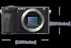 Obrázek modelu Špičkový fotoaparát α6600 typu APS-C s bajonetem E