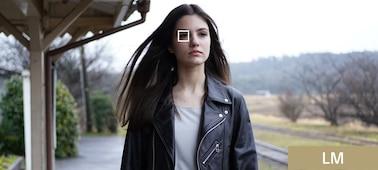 Portrét osoby pořízený s automatickým zaostřením na oči