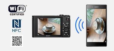 Obrázek modelu HX99 – kompaktní fotoaparát se zoomem 24–720 mm