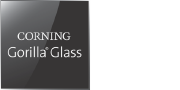 Logo skla Corning Gorilla Glass